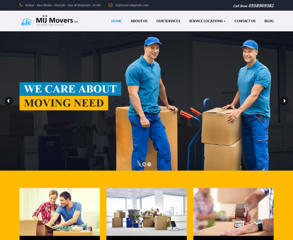 Moving Company – Abu Dhabi