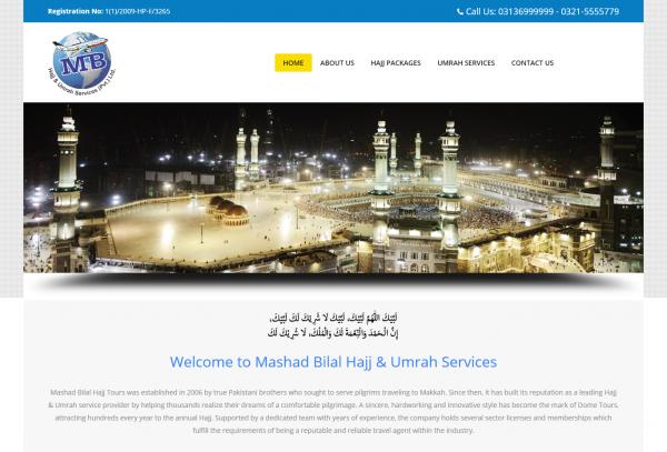 Mashad Bilal Hajj & Umrah Services