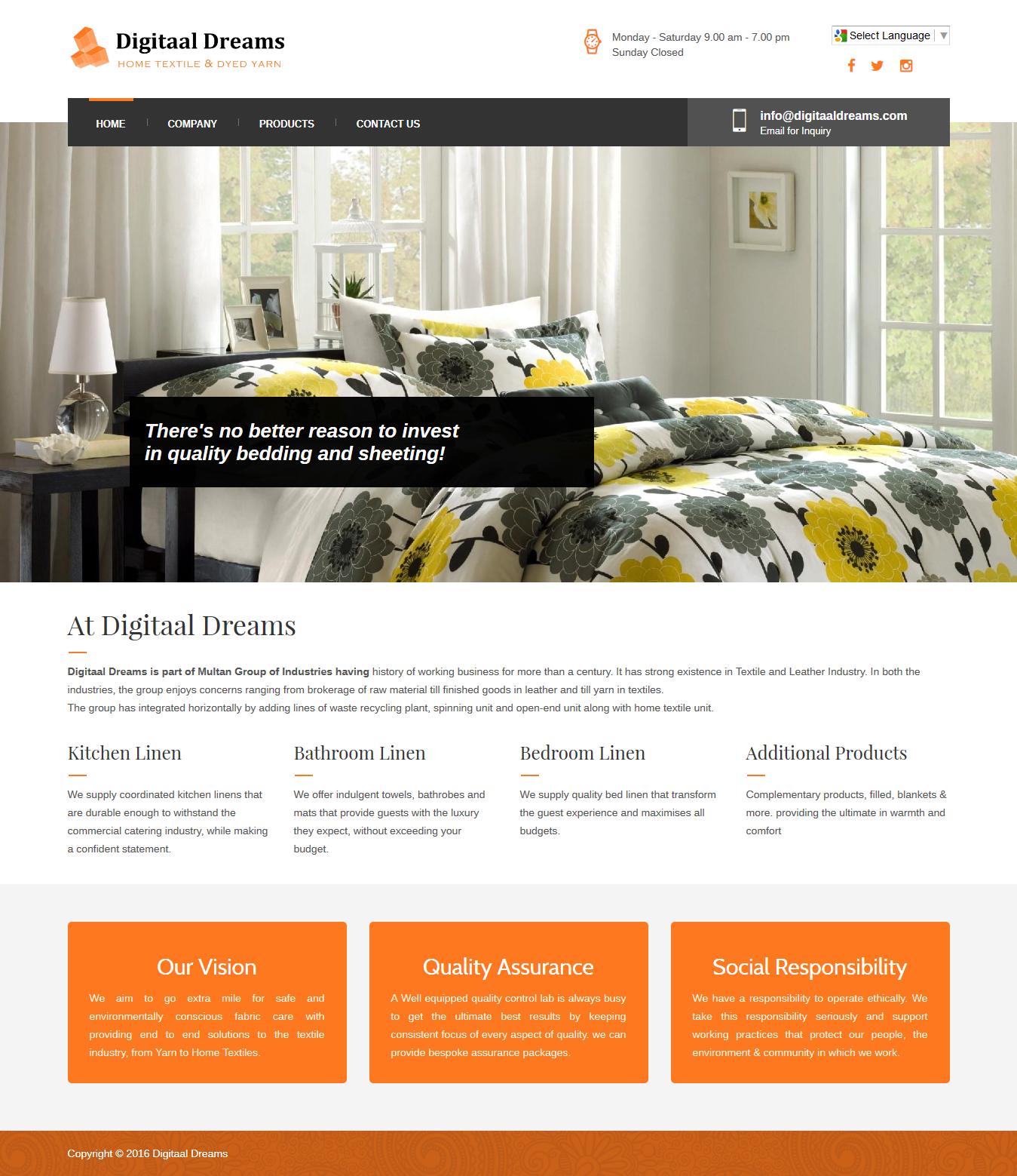 Home Textile Digitaal Dreams