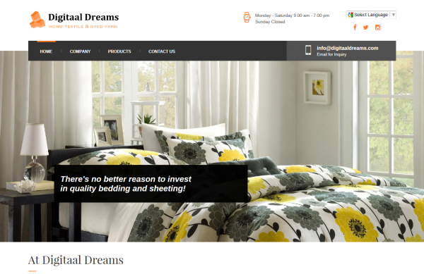 Home Textile – Digitaal Dreams