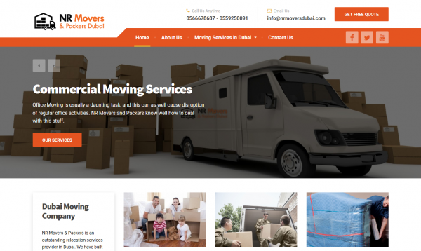 Moving Company Dubai UAE