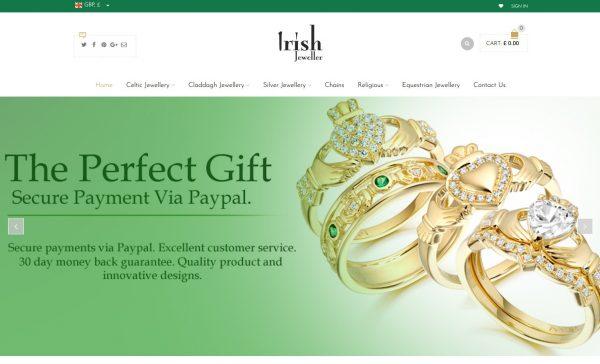 Jewelry Store Website Design UK